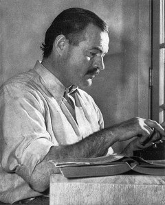 ErnestHemingway image from For Whom the Bell Tolls